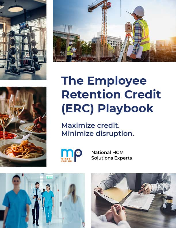 The Employee Retention Tax Credit (ERC) Playbook